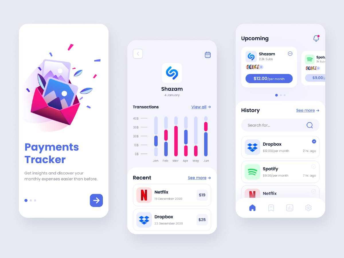 Payment-Tracker-app-design