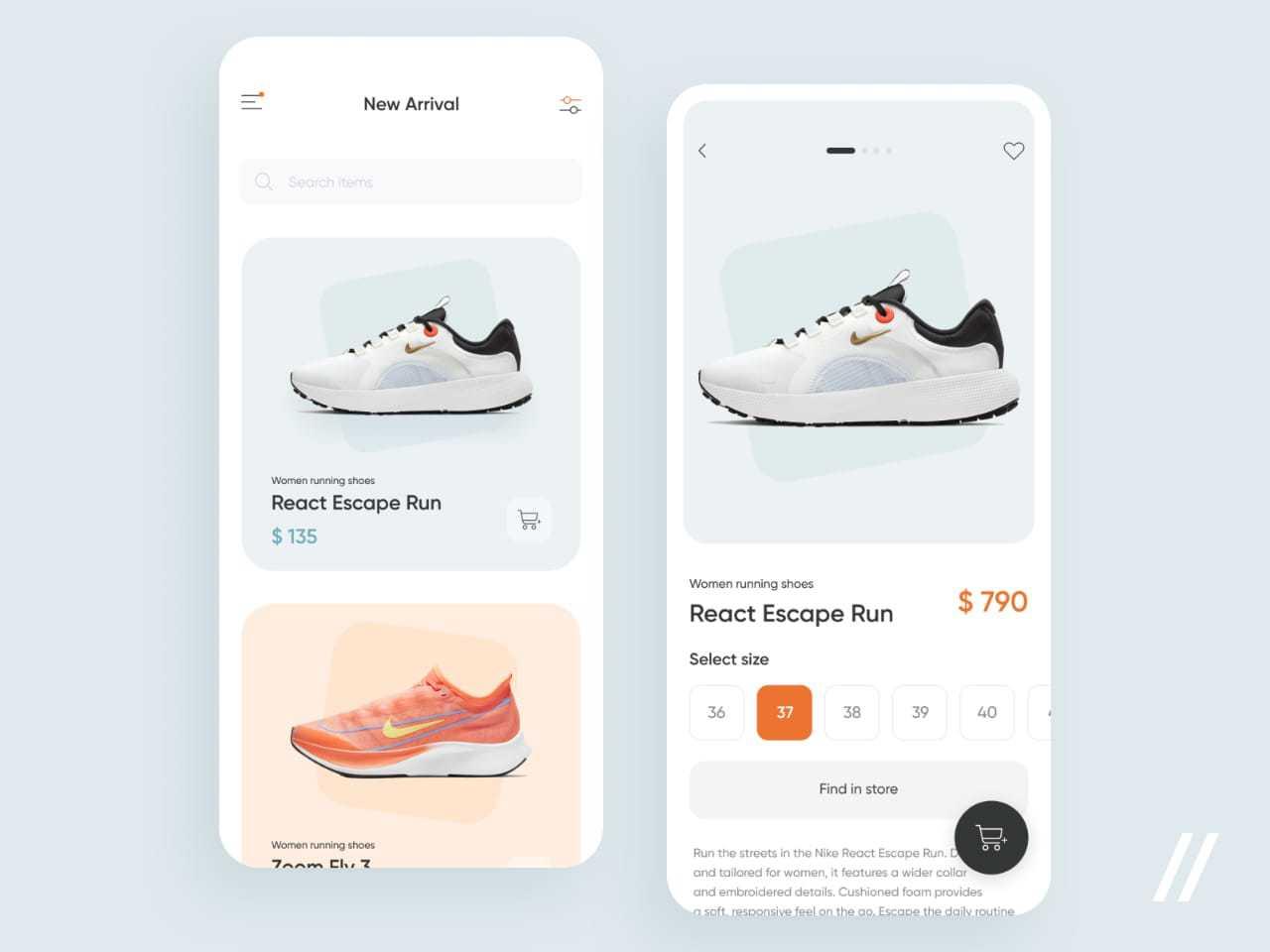 Sneaker-store-app-cool-design